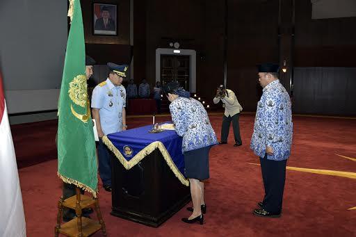 Aspers Panglima TNI Pimpin Sertijab Ketua DPK TNI