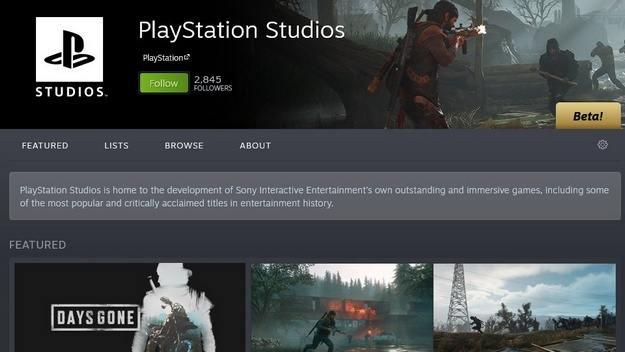 PlayStation is preparing 16 more announcement on Steam