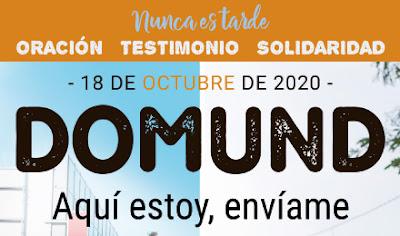 Día del DOMUND   18 de octubre de 2020