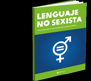 La guía del lenguaje no sexista