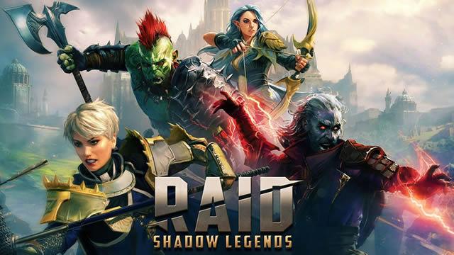 raid shadow legends Best free games