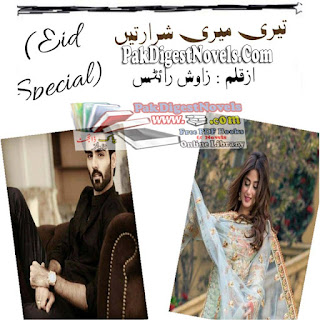 Teri Meri Sharartain (Novel Complete) By Wajeeha Bukhari Pdf Free Download