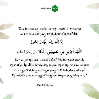 Kata mutiara nasehat islam saat terkena musibah