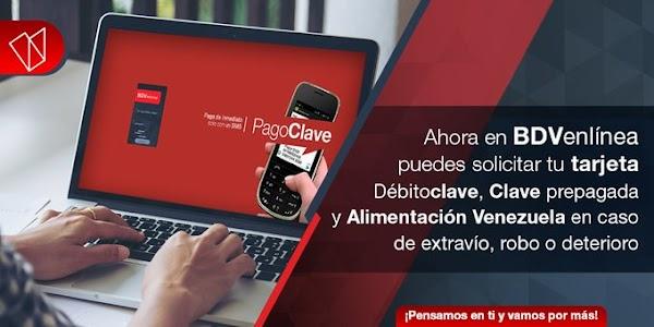 Banco de Venezuela implementará nuevo sistema para solicitud de tarjetas a partir del 26 de agosto del presente año