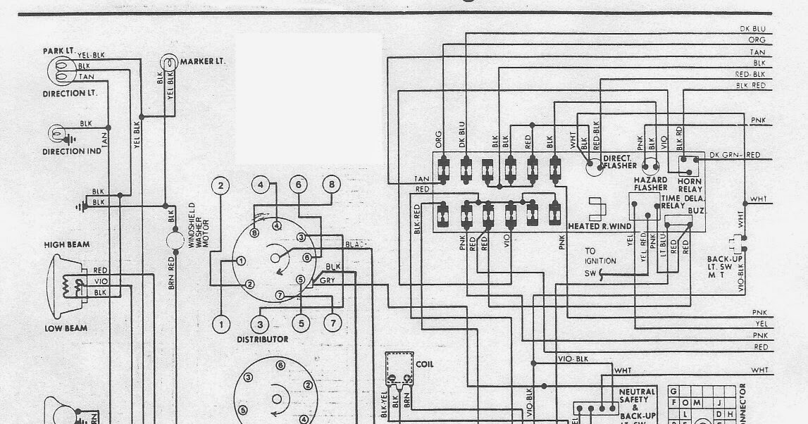 The 1976 Dodge Aspen Wiring Diagram Electrical System