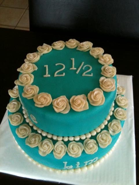 12 5 jaar getrouwd taart Friedepiece of Cake: 08/26/11 12 5 jaar getrouwd taart