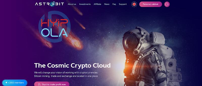 [SCAM] Review Astrobit - Dự án đầu tư khá tốt với lãi từ 2.4% hằng ngày - Thanh toán tức thì
