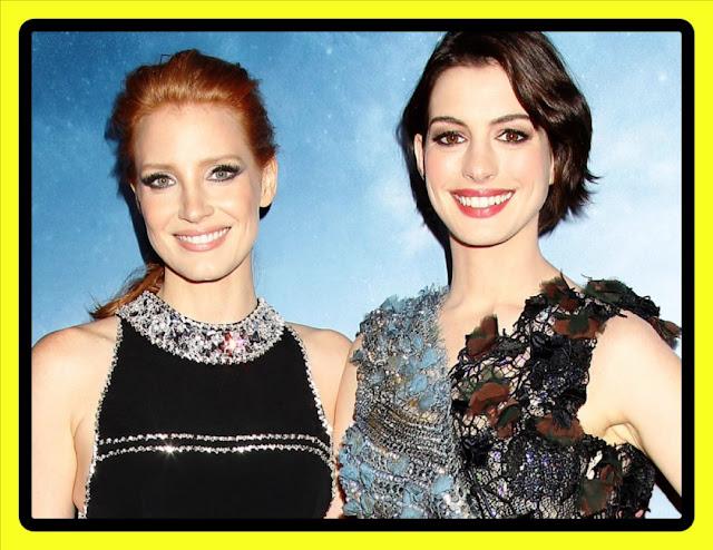 "JESSICA CHASTAIN y ANNE HATHAWAY protagonizarán el remake de ""INSTINTO MATERNAL"""