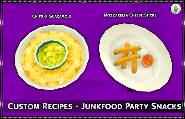 Custom Recipe - Junkfood Party Snacks