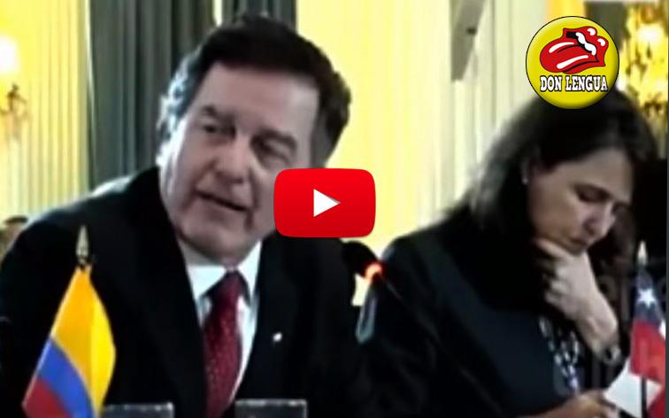 Canciller de Chile pasó coleto con la cara de Jorge Arreaza en la OEA