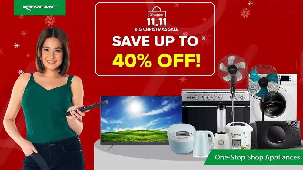 XTREME - Shopee 11.11 Big Christmas Sale