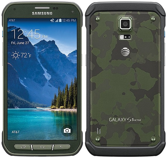 Used Samsung Galaxy S5 Active price?