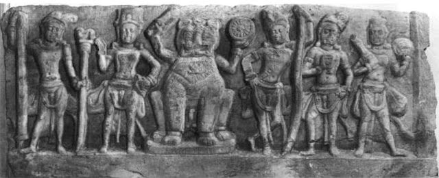 Vrishni Heroes - depiction from 4th century
