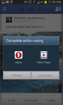 How to Download Facebook Videos on Android Using Opera Browser