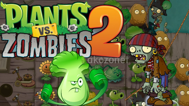 Plants vs Zombies 2 Mod Apk - Unlimited Coins/Gems