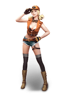 Personaje Misha de Free Fire Battlegrounds