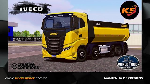 IVECO X-WAY - GINAF TRANSPORT