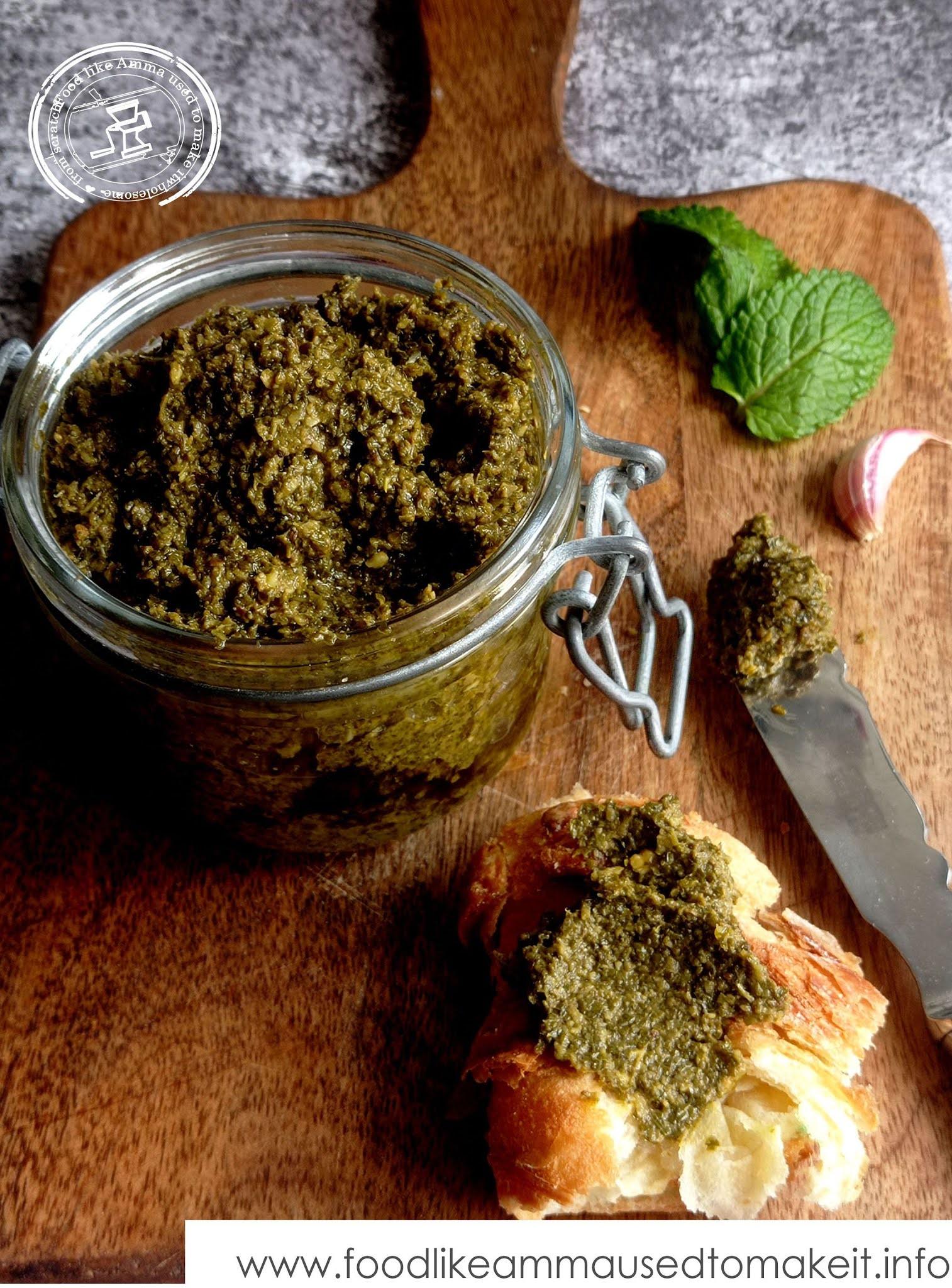 pudina pickle recipe