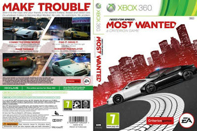 Need For Speed Most Wanted Xbox360 PS3 free download full version