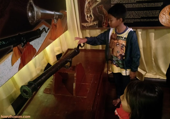 Balai Senjata Lama Istana Jahar, Kota Bharu Kelantan