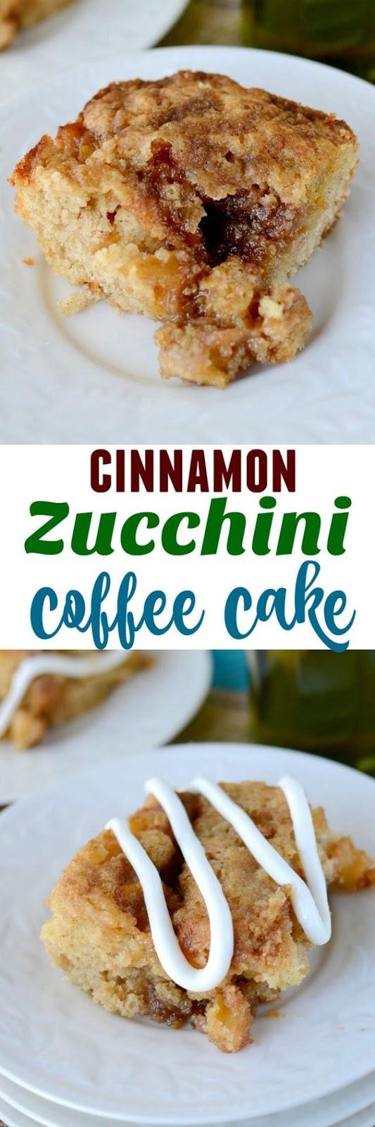 CINNAMON ZUCCHINI COFFEE CAKE