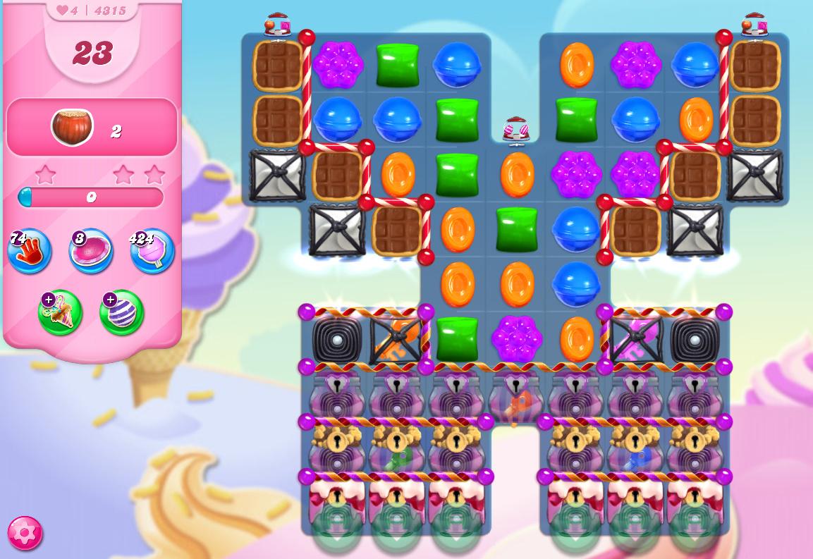 Candy Crush Saga level 4315