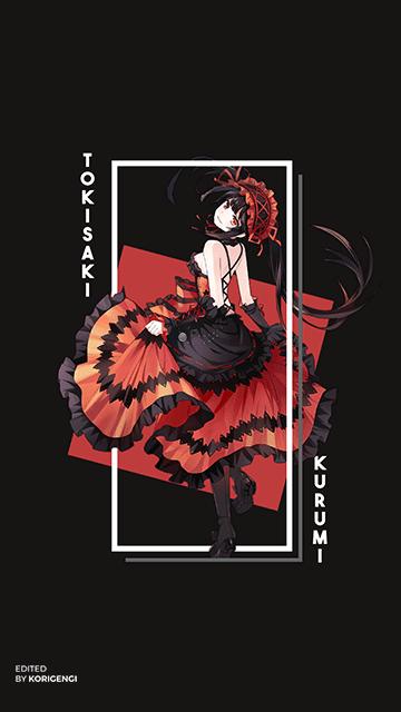 Kurumi Tokisaki - Date A Live Wallpaper