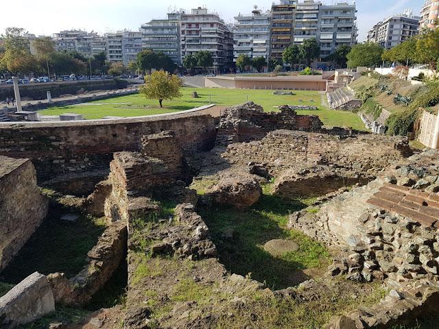 חורבות הפורום הרומאי ביוון