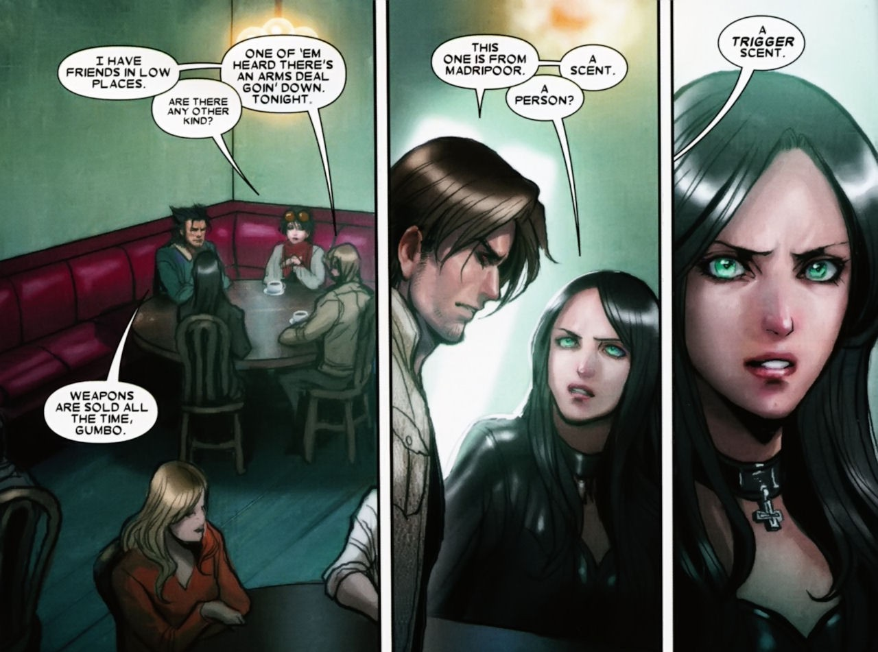 X-men Supreme: X-23 #11 - A Trigger For True Awesome X 23 Gambit