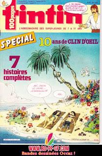 Fascicule Tintin, numéro 26, année 1985