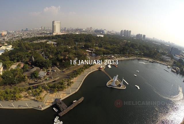Foto Udara Kawaasan Ancol Tahun 2013