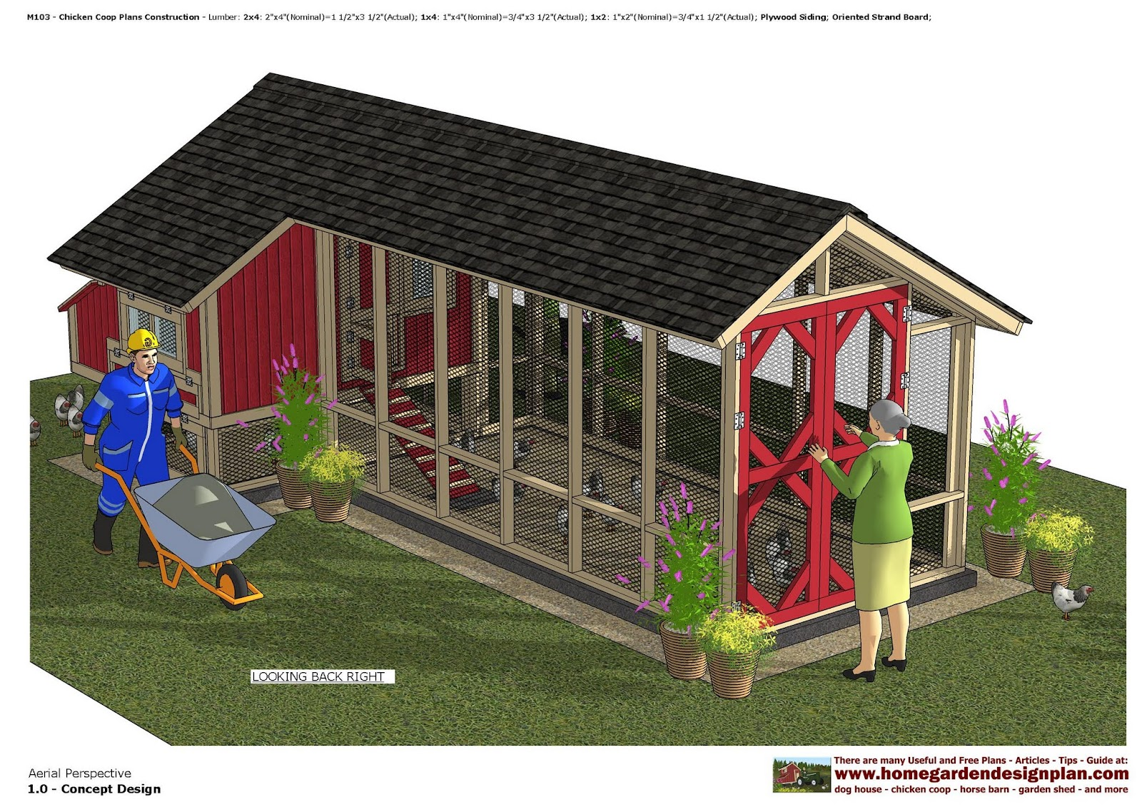 home garden plans m103 chicken coop plans chicken coop design