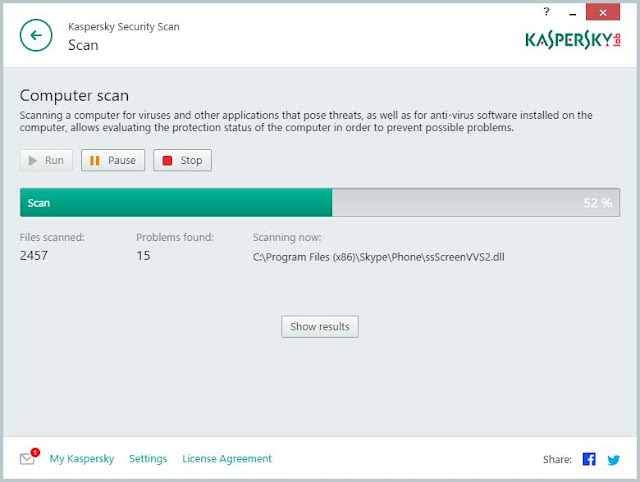 Kaspersky Security Scanner | Supratim Sanyal's Blog