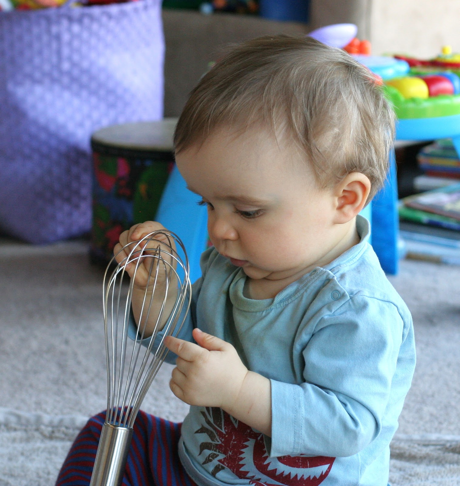 Baby Play: Exploring the Kitchen (Part One)