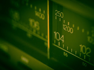 Parte de una linea de sintonía de una radio