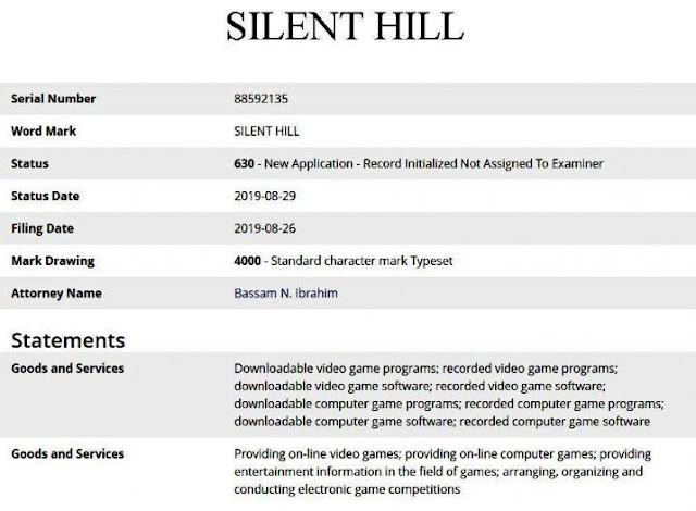Konami again registers Silent Hill's title rights this time in America