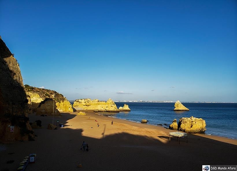 Primeira vista da Praia Dona Ana, Algarve