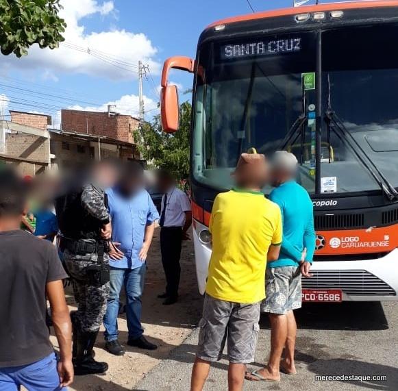 Elemento morre em tentativa de assalto a ônibus da Caruaruense entre Santa Cruz e Caruaru