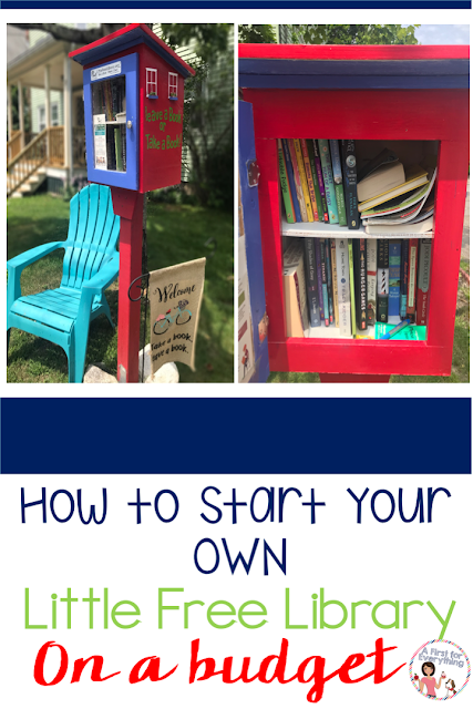 Build community, cultivate readers and spark creativity with a repurposed Little Free Library. A fabulous DIY project, these portable libraries help promote literacy by offering free books for all. Learn how you can make your own on a small budget. {#reading, #LFL, #elementary, #plans, #ideas, #tips}