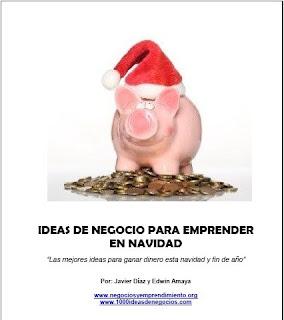 Libro Ideas de Negocios para emprender en Navidad