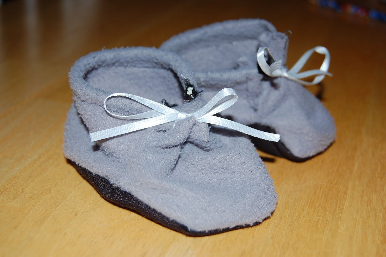 Homemade Baby Shoes Pattern