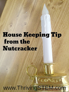 My March update and a Housekeeping Tip from the Nutcracker.