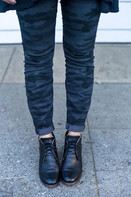 Camo Lucky Brand Jeans