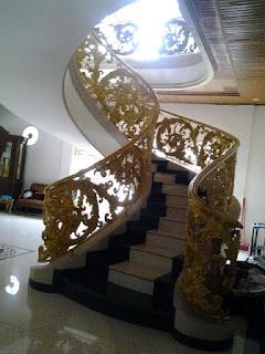 railing tangga layang