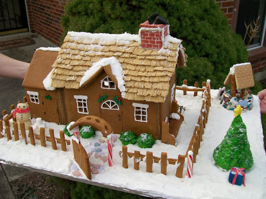 To eat, or not to eat....The Great Gingerbread Debate.