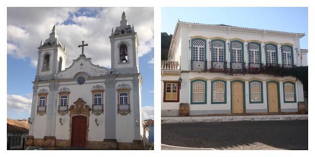 Igreja do Rosário e Solar dos Neves - São João del Rei - MG