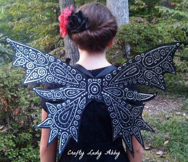 COSTUME DIY: Dark Fairy Wings Blog Hop