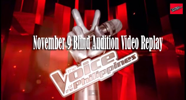 The Voice of the Philippines Season 2 November 9, 2014 Blind Audition Video Replay
