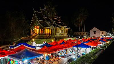 Luang Prabang's night market