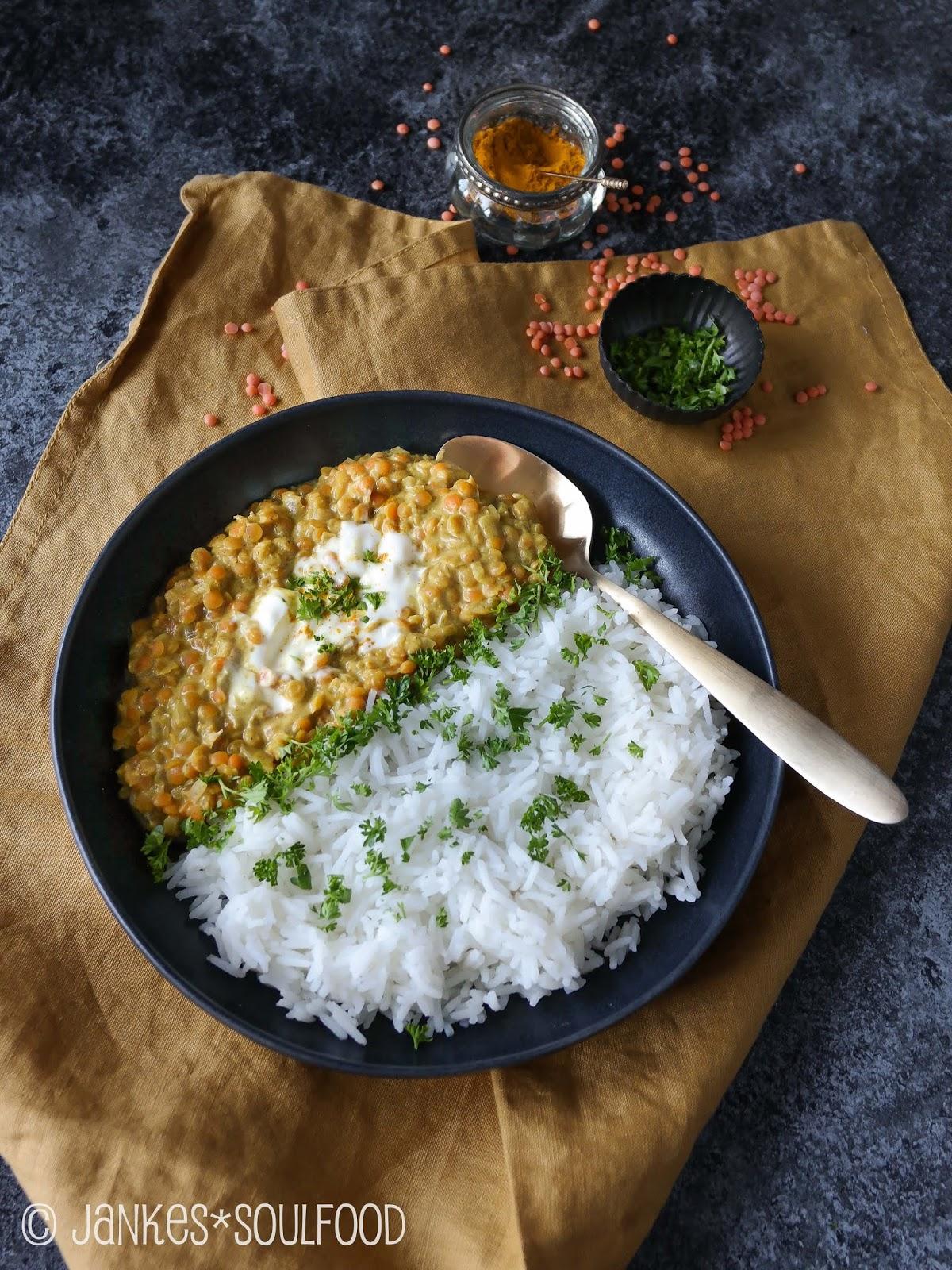 Indisches Linsen-Dal von Jankes Soulfood
